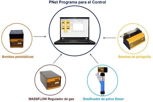 PNet control software