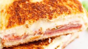 Veg Sandwich Pizza