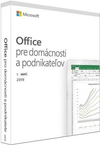 Microsoft Office 2019 pre domácnosti a podnikateľov - MAC verzia