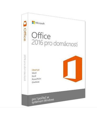Microsoft Office 2016 pro studenty a domácnosti