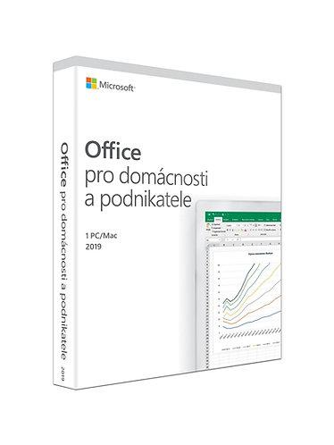 Microsoft Office 2019 pro domácnosti a podnikatele, verze pro MAC
