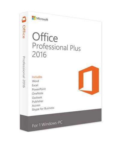 Microsoft Office 2016 pro profesionály - ESD elektronická licence