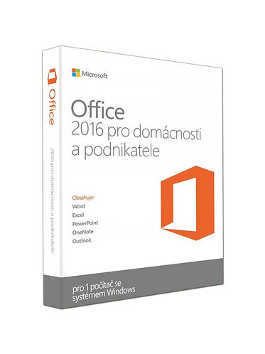 Microsoft Office 2016 pro domácnosti a podnikatele - ESD elektronická licence