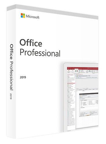 Microsoft Office 2019 pro profesionály - ESD elektronická licence