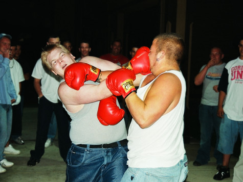 Double Punch, Newtown, PA, 2004.