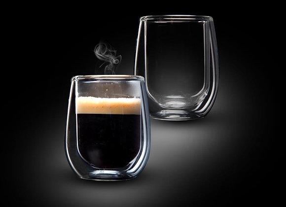 זוג כוסות אספרסו 80 מל