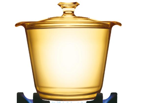 סיר זכוכית קורנינג 1.2 ליטר
