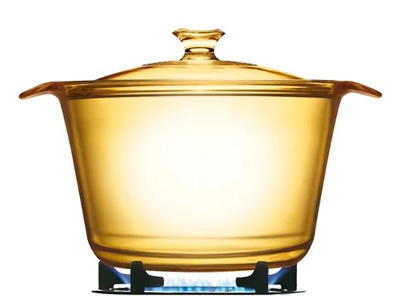 סיר זכוכית קורנינג 3.8 ליטר