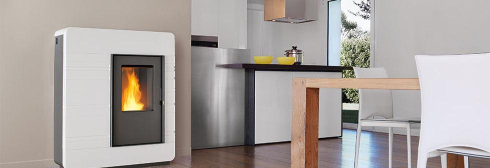 Piazzetta Pellet Heaters Australia Thermo Range Hot water boiler home heating