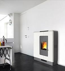 Piazzetta P936 Pellet Heater Bianco Antico