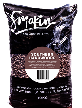 Smokin' Southern Hardwoods BBQ Pellets