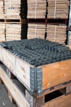 Pallet Collars used to store heavy