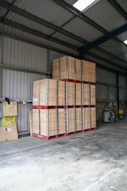 Pallet Collars Storage