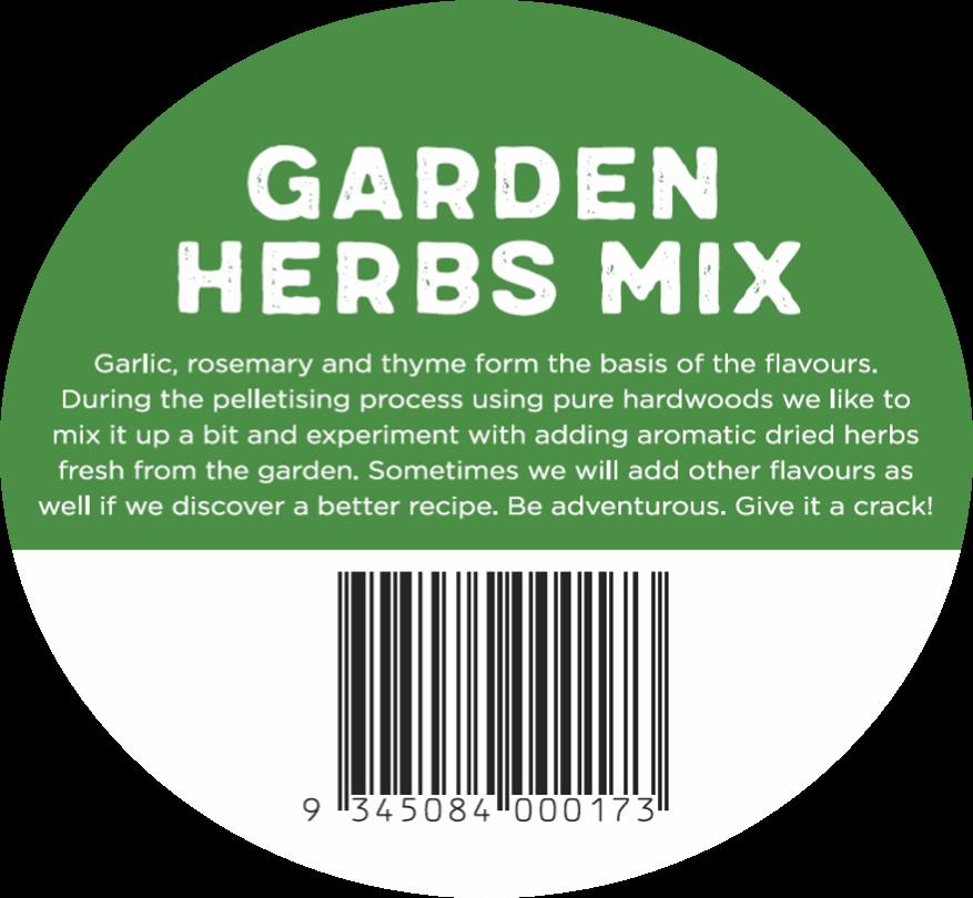 Garden Herbs Mix Sticker
