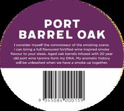 Port Barrel Sticker
