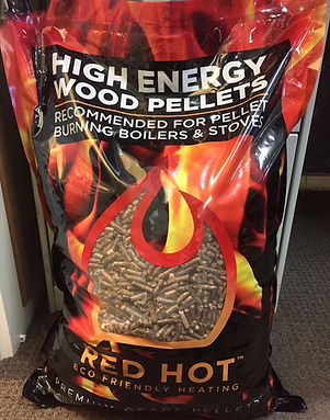 Red Hot Pellets for Piazzetta Pellet Heaters made in Australia