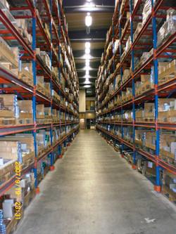 Warehouse Pallet Collar Storage