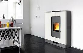 Piazzetta Pellet Heater P936 in White