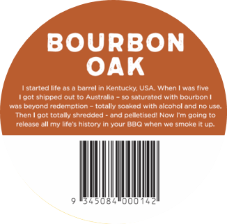 Bourbon Oak Sticker