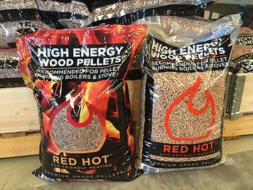 RedHot Wood Pellets For Sale