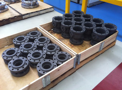 Pallet Collars used to store compone