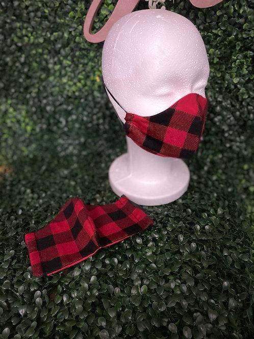 Lumberjack Plaid Mask