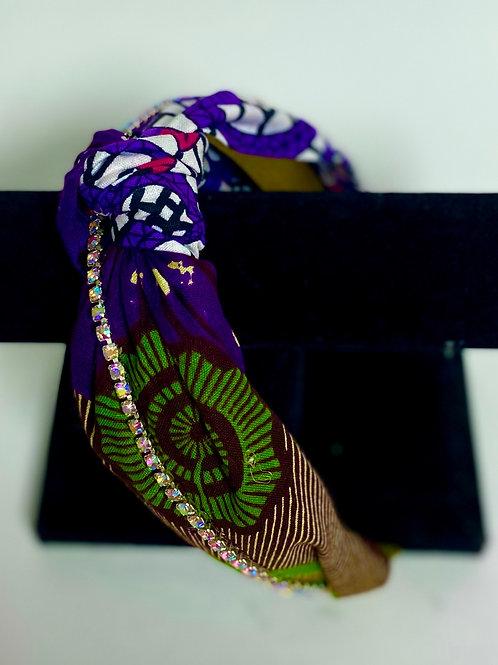 Royal Culture Headbands (Style: Culture Purple/ Girl Culture)