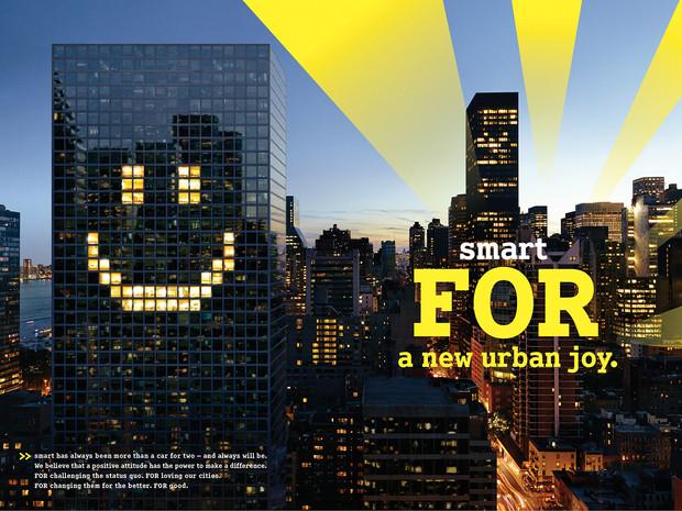 smart - FOR a new urban joy