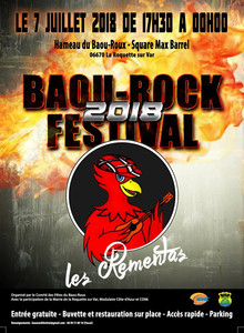 Baou-Rock Festival 2018