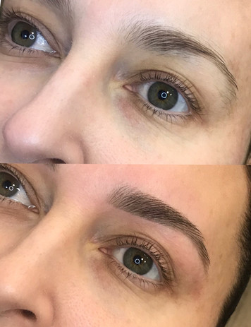Dermal-Health-HD Brows Before and After.