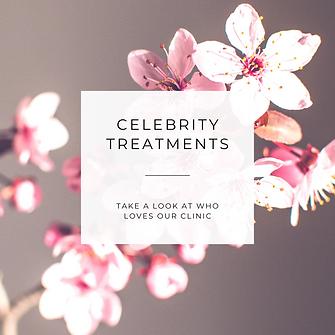 Celebrity Treatments | Dermal Health | Aesthetics Skincare Clinic | England