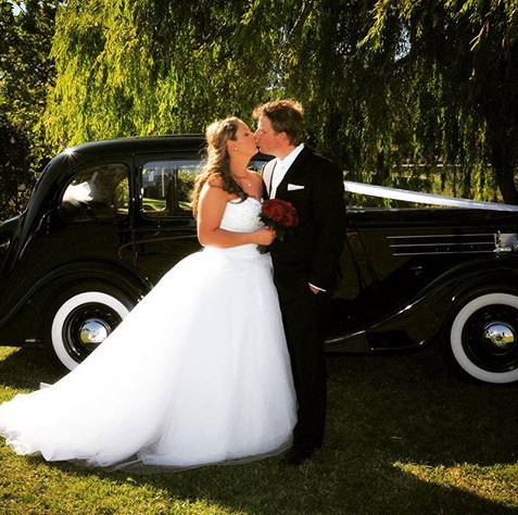 A beautiful wedding #winery #couple #wed