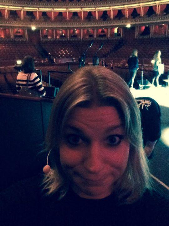 Obligatory selfie with head mic