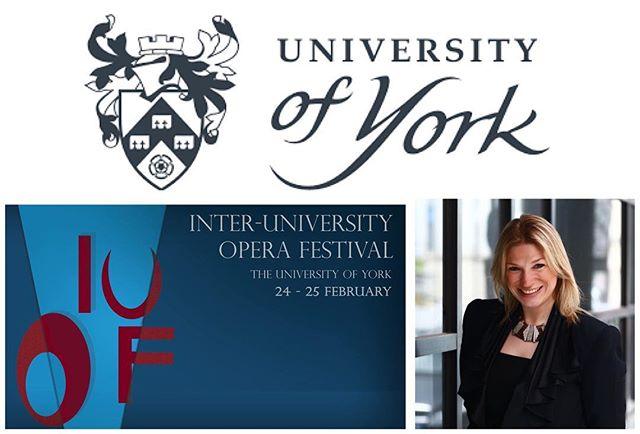 Very pleased to be a Tutor _uniofyork #InterUniversityOperaFestival this year. A few places still av