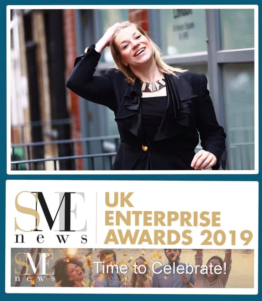 SME News UK Enterprise Award Winner 2019