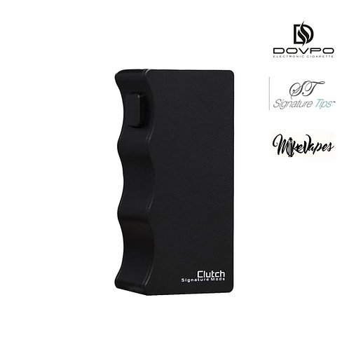 DOVPO X SIGNATURE TIPS X MIKE VAPES - Clutch 21700 Mech Mod - Black