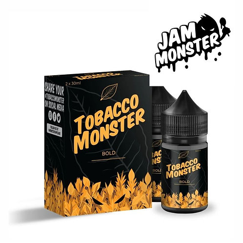 JAM MONSTER - Tobacco Bold - (2 x 30ml)