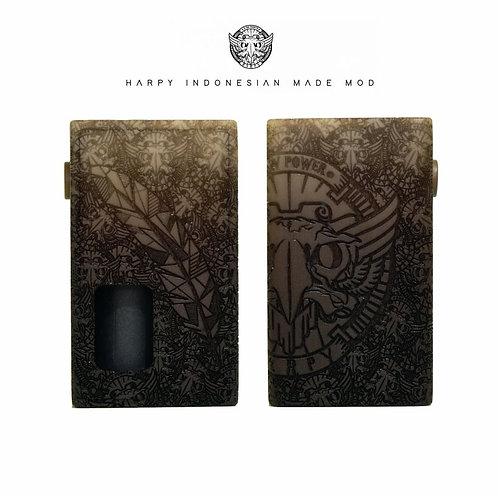 HARPY MSL Noir - Full Engraved
