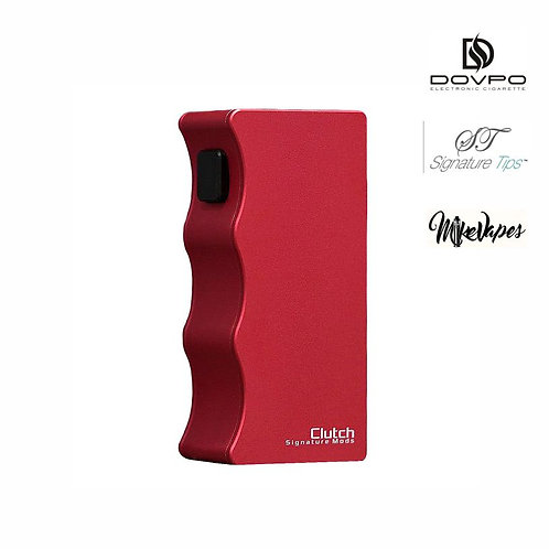 DOVPO X SIGNATURE TIPS X MIKE VAPES - Clutch 21700 Mech Mod - Red