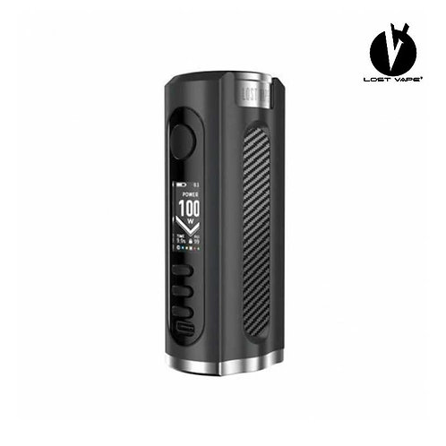 LOST VAPE Grus 100W Mod - Black/Carbon Fiber
