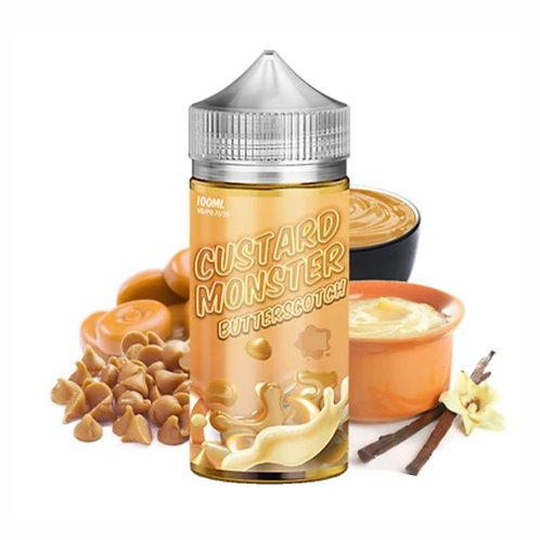 Jam Monster Custard Monster - Butterscotch - 100ml