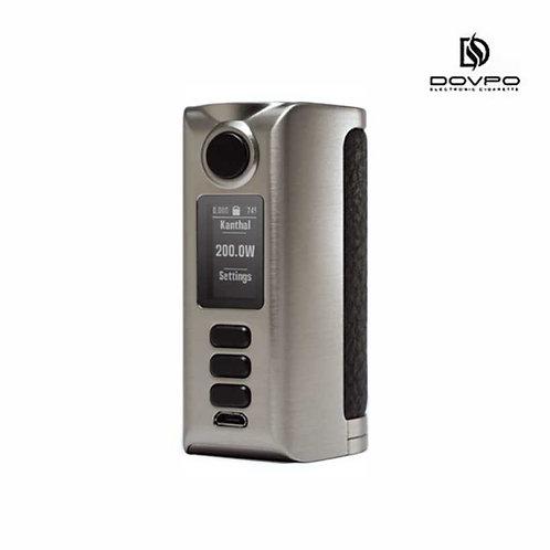 DOVPO Riva DNA250C - Silver/Rough Dark Brown