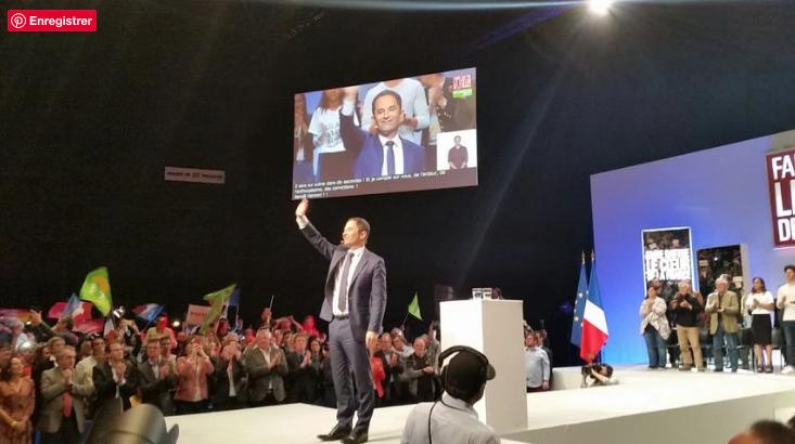 Meeting présidentielle 2017
