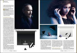 Publication magasine photo