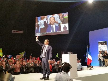 Meeting Présidentielle 2017 : Benoit Hamon
