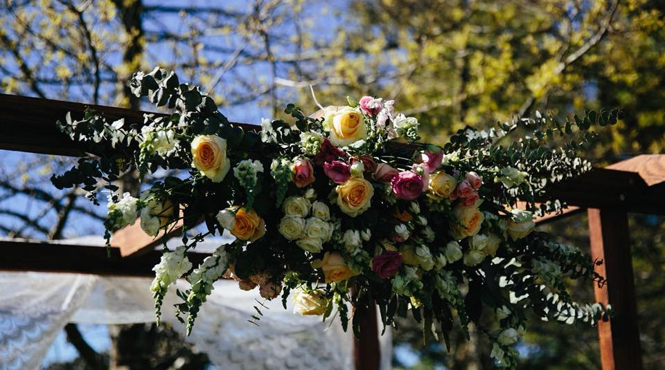 Floral Wedding Arbour