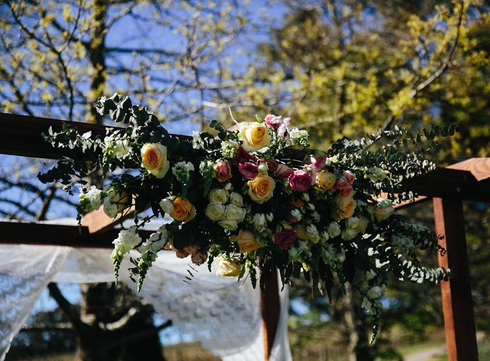 Floral Wedding Arbour