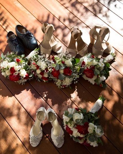 Floral Pieces on Stilettos