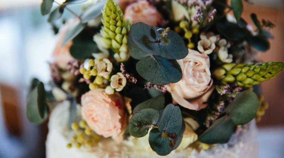 Floral on Cake