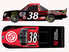 CP Compressors Returns to FRM. Partners with Todd Gilliland at Atlanta Motor Speedway This Weekend